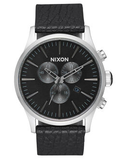 BLACK GUNMETAL BLACK MENS ACCESSORIES NIXON WATCHES - A4052788