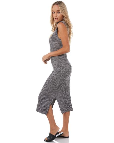 ANTHRACITE WOMENS CLOTHING ROXY DRESSES - ERJKD03177KVJ0