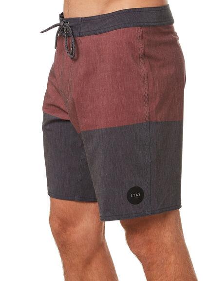 BLOOD MENS CLOTHING STAY BOARDSHORTS - SBO-21102BLD