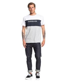NAVY BLAZER MENS CLOTHING QUIKSILVER TEES - EQYKT03936-BYJ0