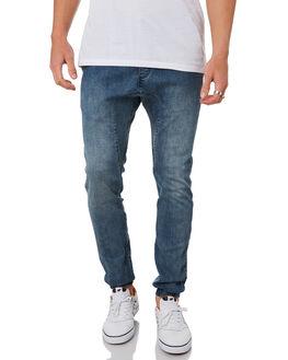 DK BLUE DENIM MENS CLOTHING ZANEROBE PANTS - 705-WANIDKBLD