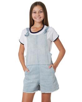 LIGHT BLUE KIDS GIRLS EVES SISTER PLAYSUITS + OVERALLS - 9920021LTBL