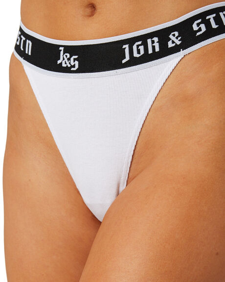 WHITE WOMENS CLOTHING JAGGER AND STONE SOCKS + UNDERWEAR - JS160WHT