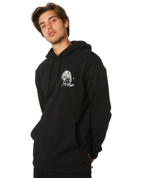 BLACK MENS CLOTHING VOLCOM JUMPERS - A4131912BLK