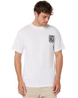 WHITE MENS CLOTHING RUSTY TEES - TTM2258WHT