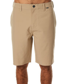KHAKI MENS CLOTHING HURLEY SHORTS - MWS000524026B