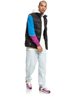 BLACK MENS CLOTHING DC SHOES JACKETS - EDYJK03198-KVJ0