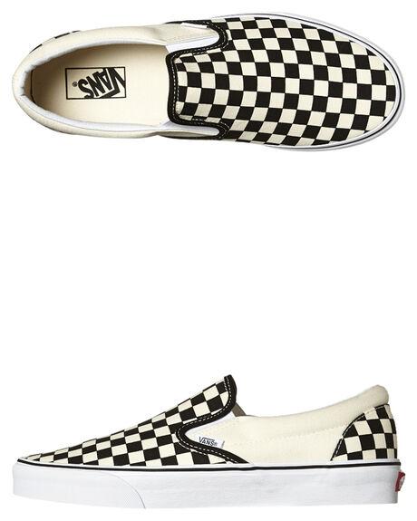 718e408048 Vans Womens Classic Slip On Shoe - Black White