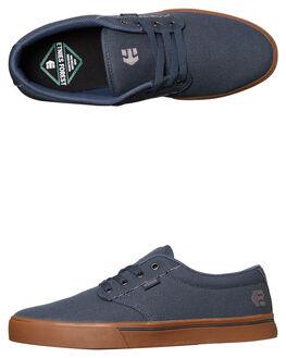 GREY SILVER MENS FOOTWEAR ETNIES SKATE SHOES - 4101000323-075