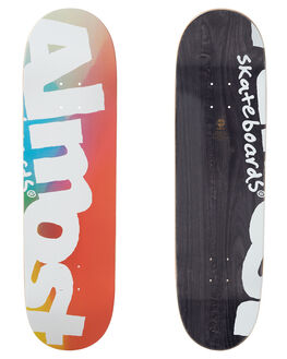 BLUE RED YELLOW SKATE DECKS ALMOST  - 100231038BRY