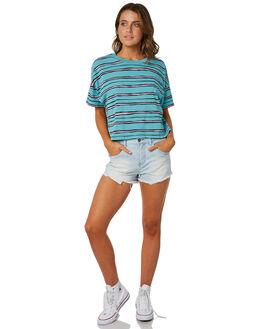 REAL TEAL WOMENS CLOTHING BILLABONG TEES - 6582132RLT