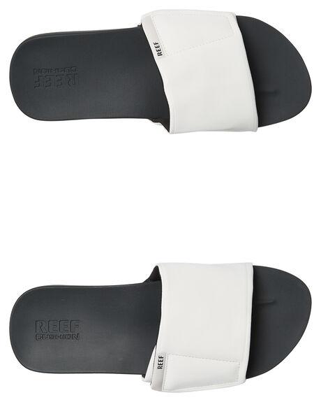 fa251581a9b5 GREY WHITE MENS FOOTWEAR REEF SLIDES - A3OL5GRW