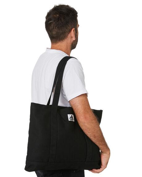 BLACK MENS ACCESSORIES XLARGE BAGS + BACKPACKS - XL702008BLK