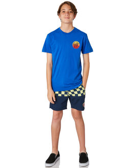 BLUE KIDS BOYS SANTA CRUZ TEES - SC-YTD8123BLU