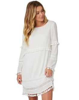 PORCELAIN WOMENS CLOTHING SASS DRESSES - 12134DWSSWHT