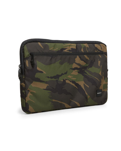 OLIVE CAMO MENS ACCESSORIES RVCA BAGS + BACKPACKS - RV-R307476-OVO