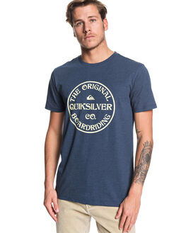 MOONLIT OCEAN MENS CLOTHING QUIKSILVER TEES - EQYZT05444-BYK0