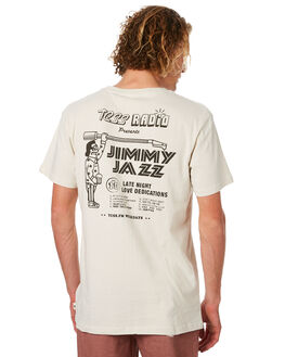 DIRTY WHITE MENS CLOTHING THE CRITICAL SLIDE SOCIETY TEES - TE1845DWHT