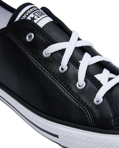 BLACK WOMENS FOOTWEAR CONVERSE SNEAKERS - 564985BLK