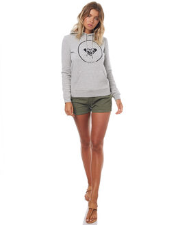 HERITAGE HEATHER WOMENS CLOTHING ROXY JUMPERS - ERJFT03592SGRH