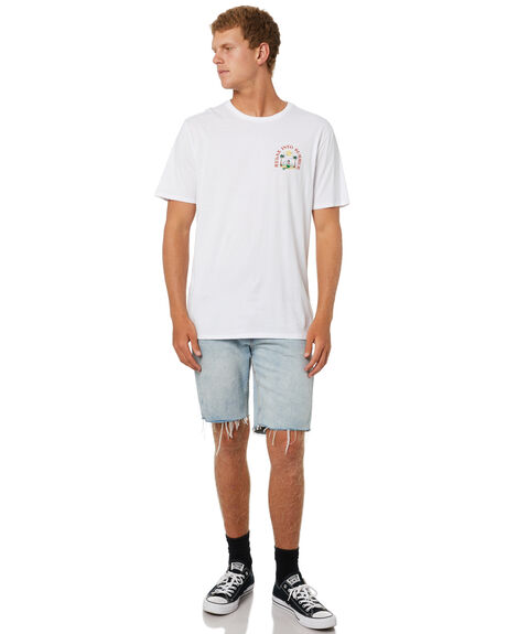 WHITE MENS CLOTHING SWELL TEES - S5214001WHT
