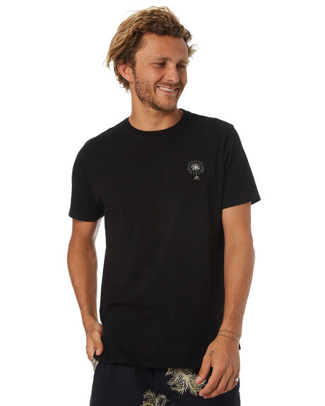 BLACK OUTLET MENS SWELL TEES - S5184042BLACK
