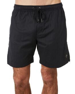 ULTRA BLACK MENS CLOTHING THE PEOPLE VS BOARDSHORTS - HS19045UBLK