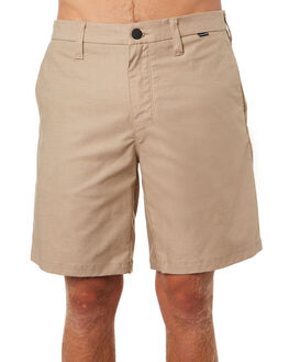 KHAKI MENS CLOTHING HURLEY SHORTS - AA8317235