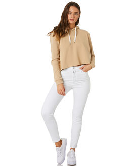DEEP SAND WOMENS CLOTHING NUDE LUCY JUMPERS - NU23541DSND