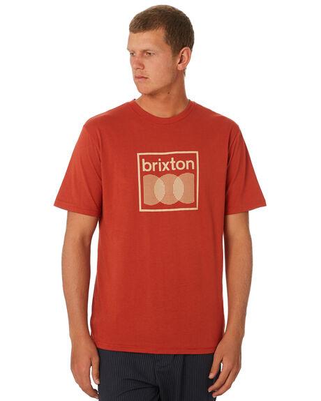 HENNA MENS CLOTHING BRIXTON TEES - 16012HENNA