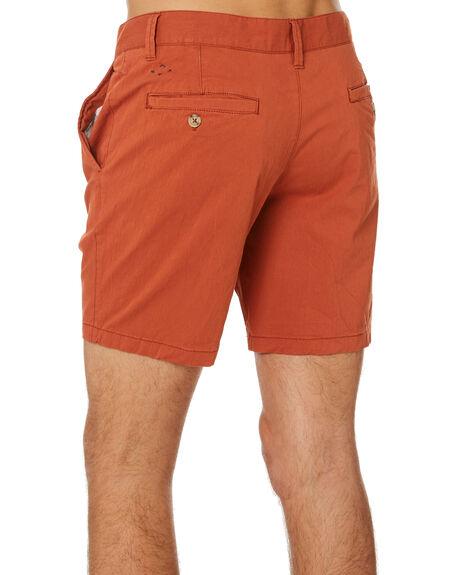 RUST MENS CLOTHING MCTAVISH SHORTS - MSP-19WS-01RUST