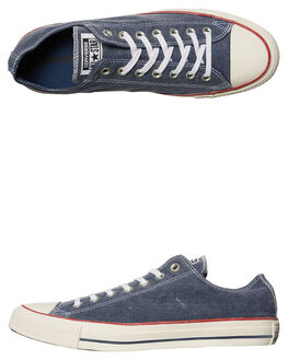 NAVY WHITE WOMENS FOOTWEAR CONVERSE SNEAKERS - SS159539NVYW