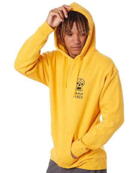 GOLD MENS CLOTHING POLER HOODIES + SWEATS - 213APM2603-GLD