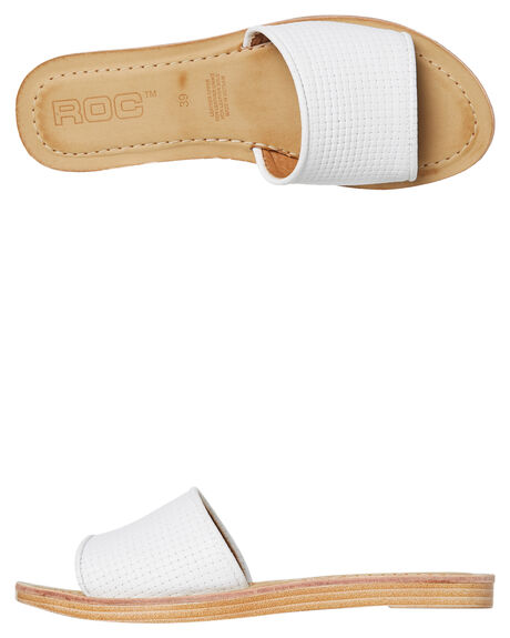 43e06e6b8c5 Roc Boots Australia Bamboo Womens Slide - White | SurfStitch