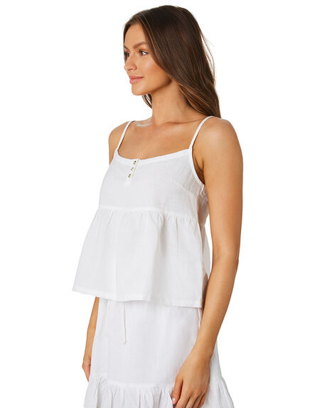 WHITE OUTLET WOMENS SWELL FASHION TOPS - S8202001WHI