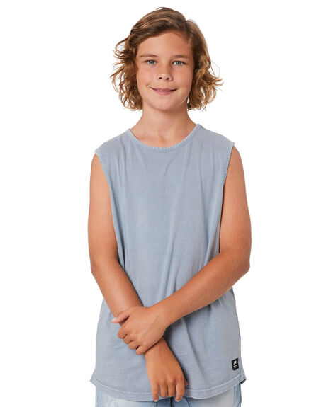 BLUE KIDS BOYS ST GOLIATH TOPS - 2463000BLU