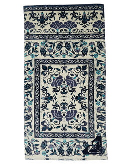 DRESS BLUES FLOWER WOMENS ACCESSORIES ROXY TOWELS - ERJAA03363BTK4