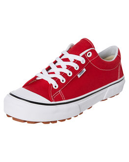 RED WOMENS FOOTWEAR VANS SNEAKERS - SSVNA3MVHJV6W