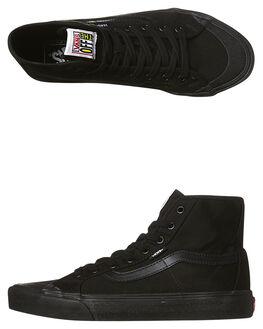 BLACK/BLACK MENS FOOTWEAR VANS SNEAKERS - VN-019ABKABBK