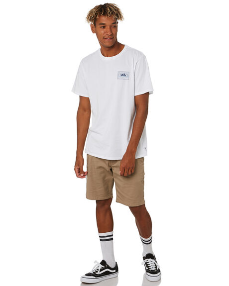 WHITE MENS CLOTHING DEPACTUS TEES - D5203002WHITE