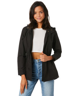 BLACK WOMENS CLOTHING O'NEILL JACKETS - FA8402004BLK