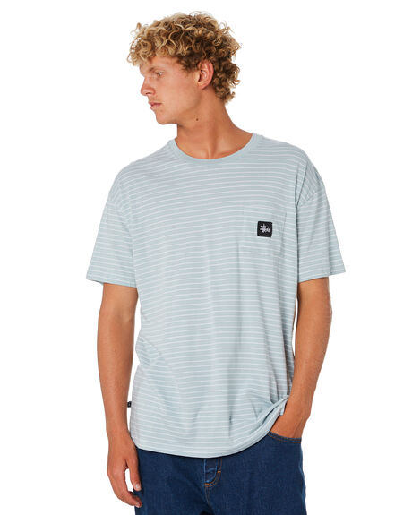 LICHEN OUTLET MENS STUSSY TEES - ST006103LCHN