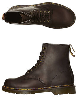 CAUCHO CRAZY HORSE MENS FOOTWEAR DR. MARTENS SNEAKERS - SS11822203GCHCHM