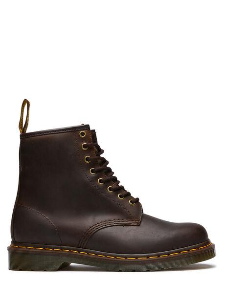 806bdf32a4104 Dr. Martens Mens Classic 1460 8 Eye Boot - Caucho Crazy Horse ...