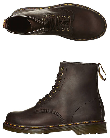 863844684187c Dr. Martens Womens Classic 1460 8 Eye Boot - Crazy Horse | SurfStitch