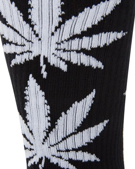 BLACK MENS CLOTHING HUF SOCKS + UNDERWEAR - SK00298-BLACK