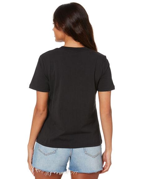 BLACK WOMENS CLOTHING LEE TEES - L-652072-OS4BLK