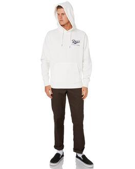 VINTAGE WHITE MENS CLOTHING DEUS EX MACHINA JUMPERS - DMW98020VNWHT