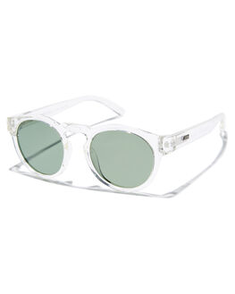POLISHED CLEAR MENS ACCESSORIES LOCAL SUPPLY SUNGLASSES - FREEWAYCRP2