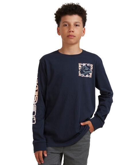 NAVY BLAZER KIDS BOYS QUIKSILVER TOPS - EQBZT04334-BYJ0
